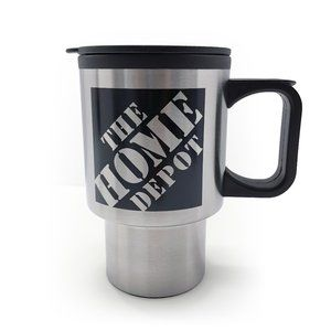 19 oz. Home Depot Insulated Metal Tumbler w Lid